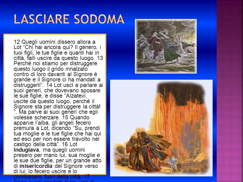 Lasciare Sodoma