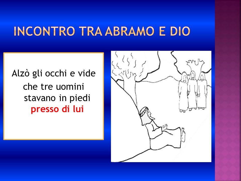 Incontro tra Abramo e Dio