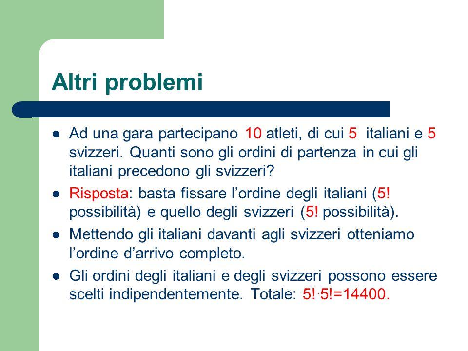 Altri problemi