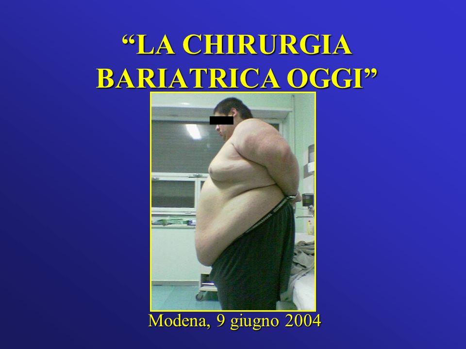LA CHIRURGIA BARIATRICA OGGI