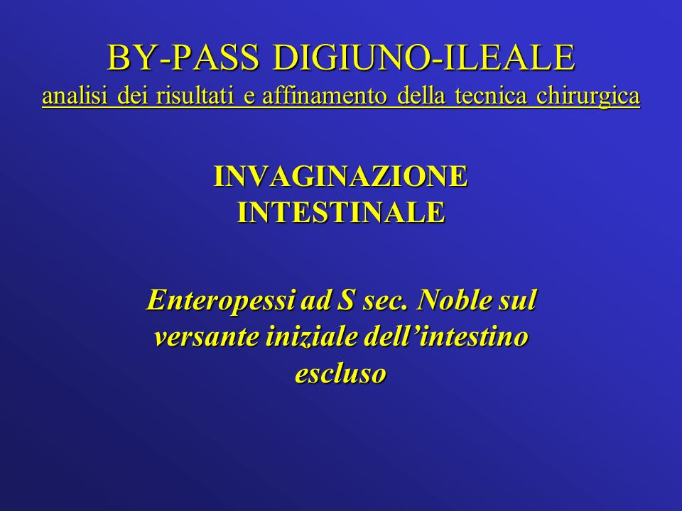 INVAGINAZIONE INTESTINALE