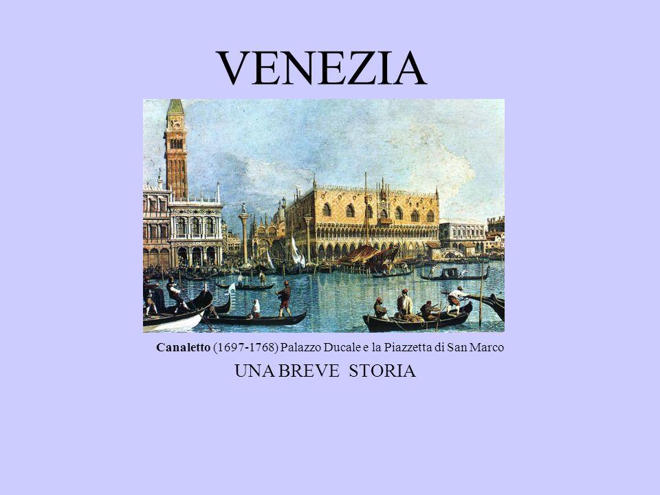 Canaletto (1697-1768) Palazzo Ducale e la Piazzetta di San Marco