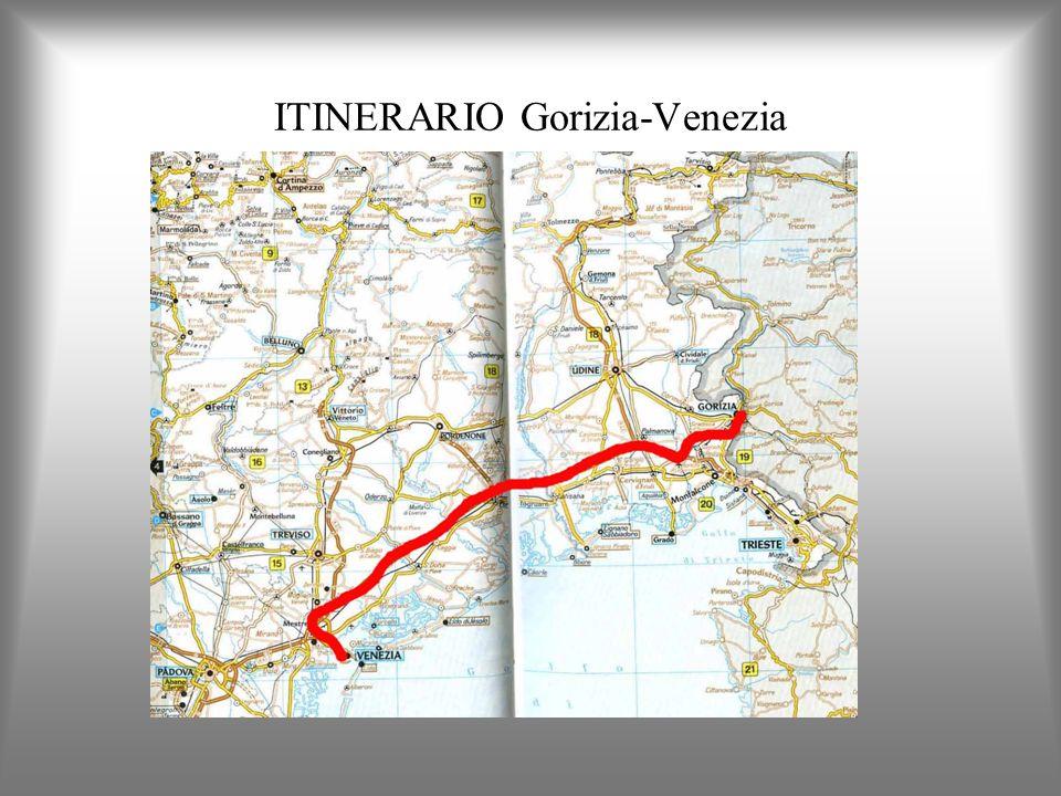 ITINERARIO Gorizia-Venezia