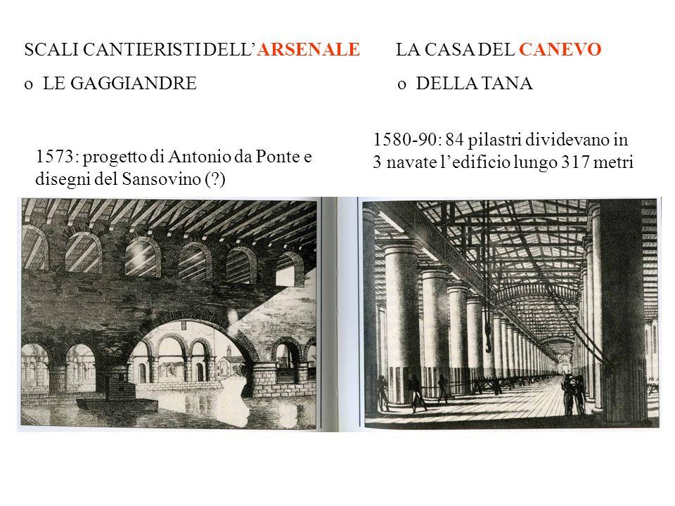 SCALI CANTIERISTI DELL'ARSENALE LA CASA DEL CANEVO