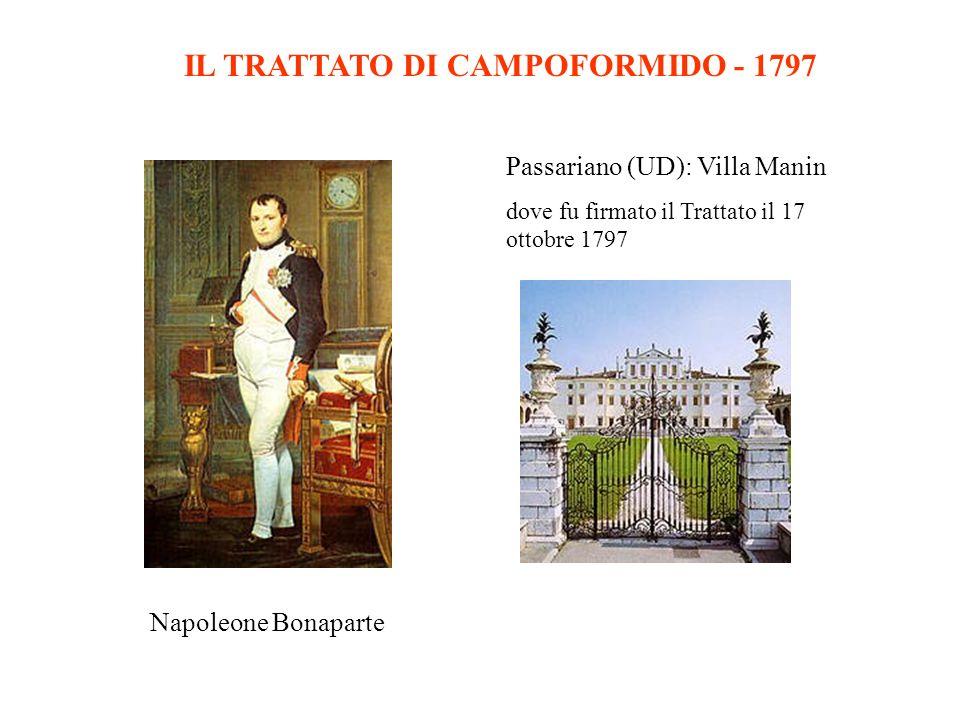 IL TRATTATO DI CAMPOFORMIDO - 1797