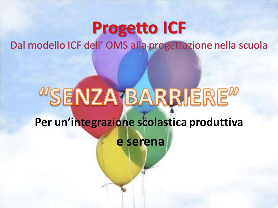 Progetto ICF Dal modello ICF dell' OMS alla progettazione nella scuola