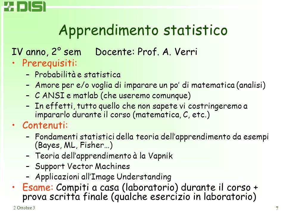 Immagini biomediche IV anno, 2° sem Docente: Prof. P. Boccacci