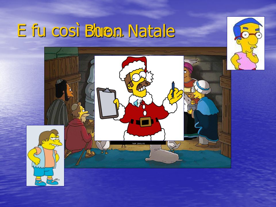E fu così che… Buon Natale