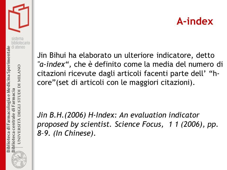 A-index
