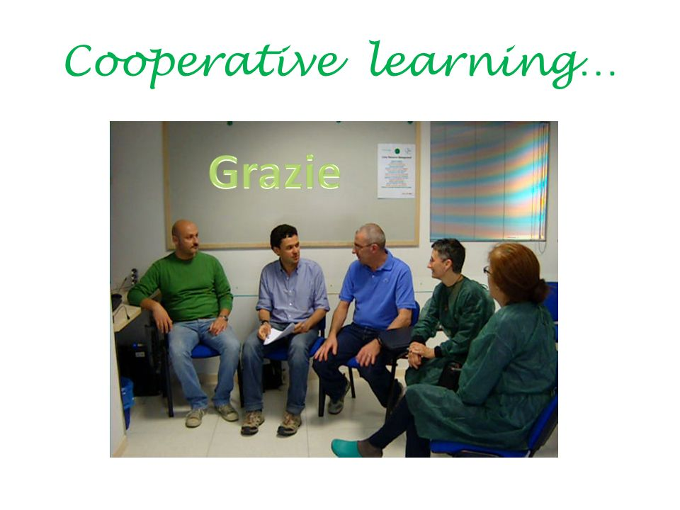 Cooperative learning…