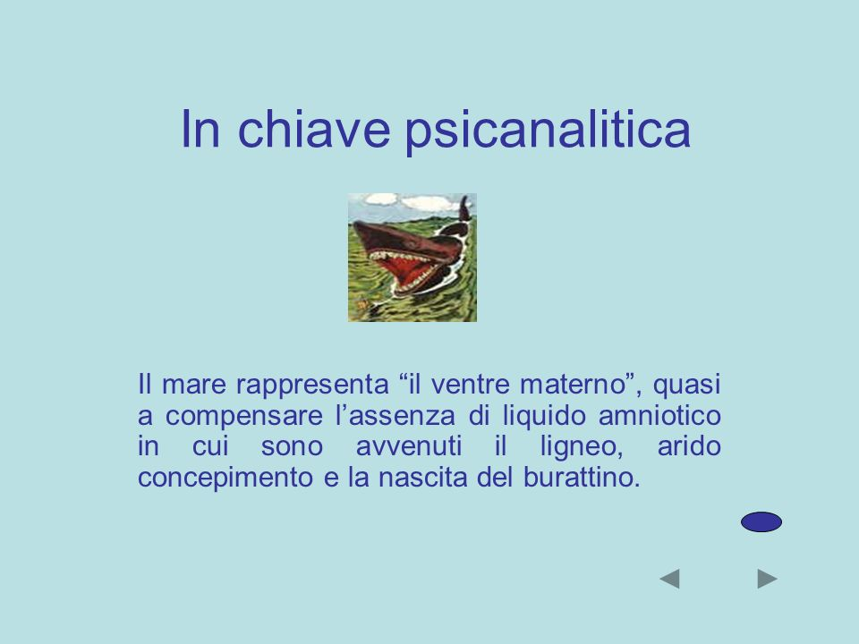 In chiave psicanalitica