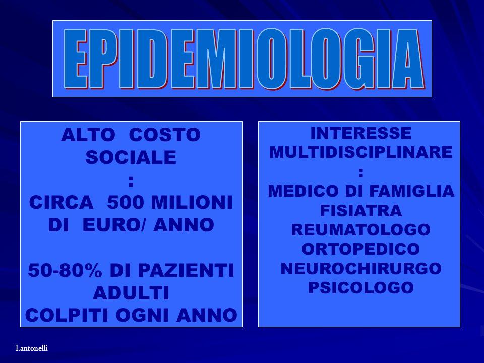 CIRCA 500 MILIONI DI EURO/ ANNO