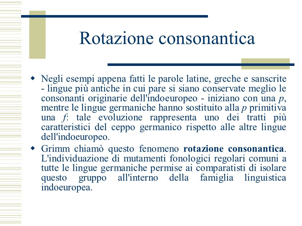 Rotazione consonantica