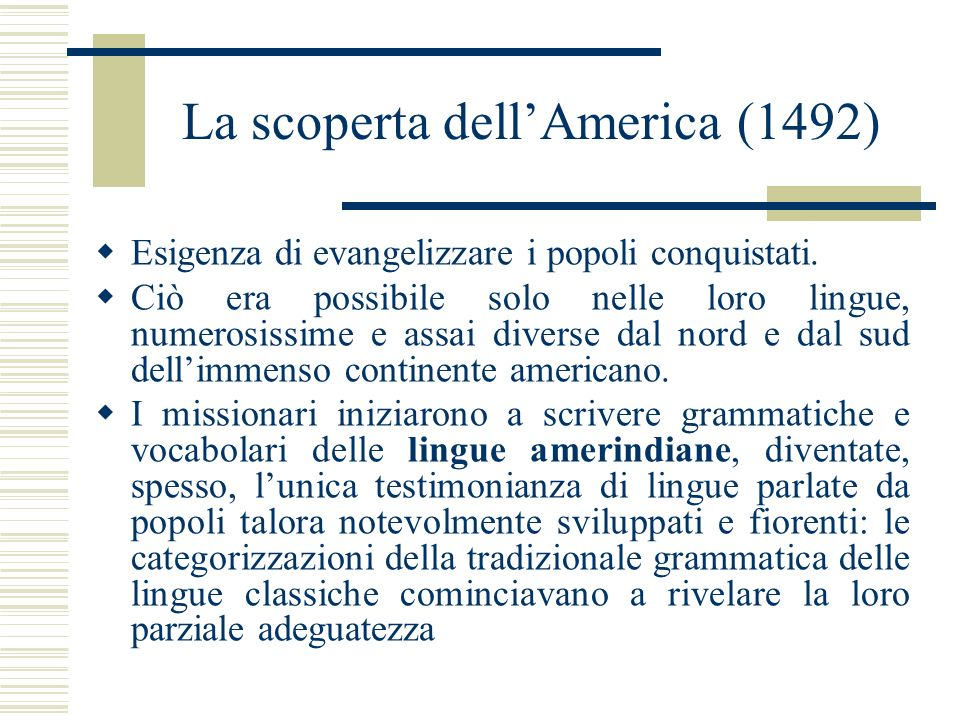 La scoperta dell'America (1492)