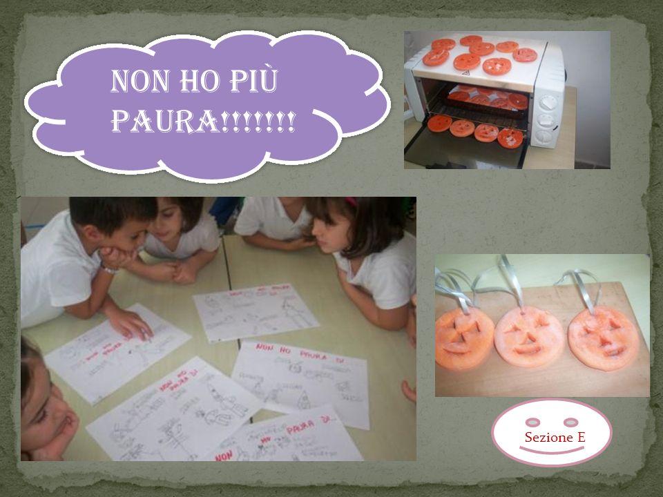 NON HO PIÙ PAURA!!!!!!! Sezione E