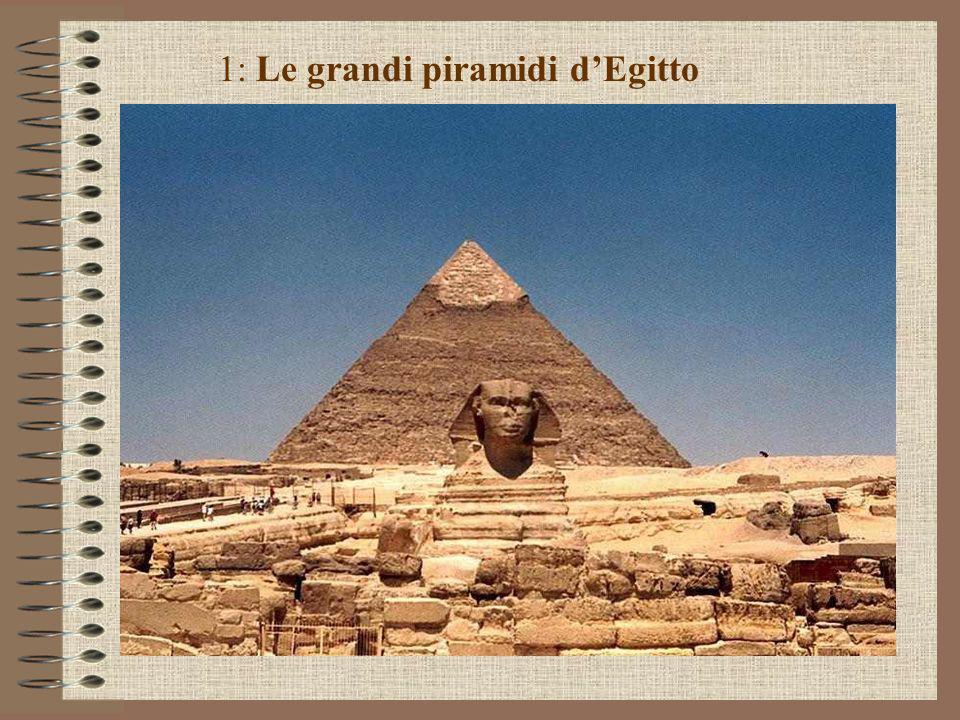 1: Le grandi piramidi d'Egitto