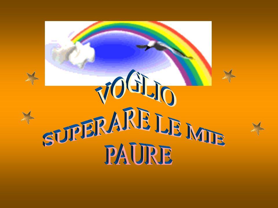 VOGLIO SUPERARE LE MIE PAURE