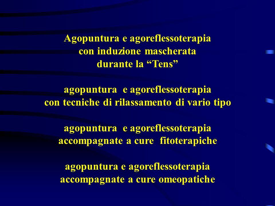 Agopuntura e agoreflessoterapia con induzione mascherata