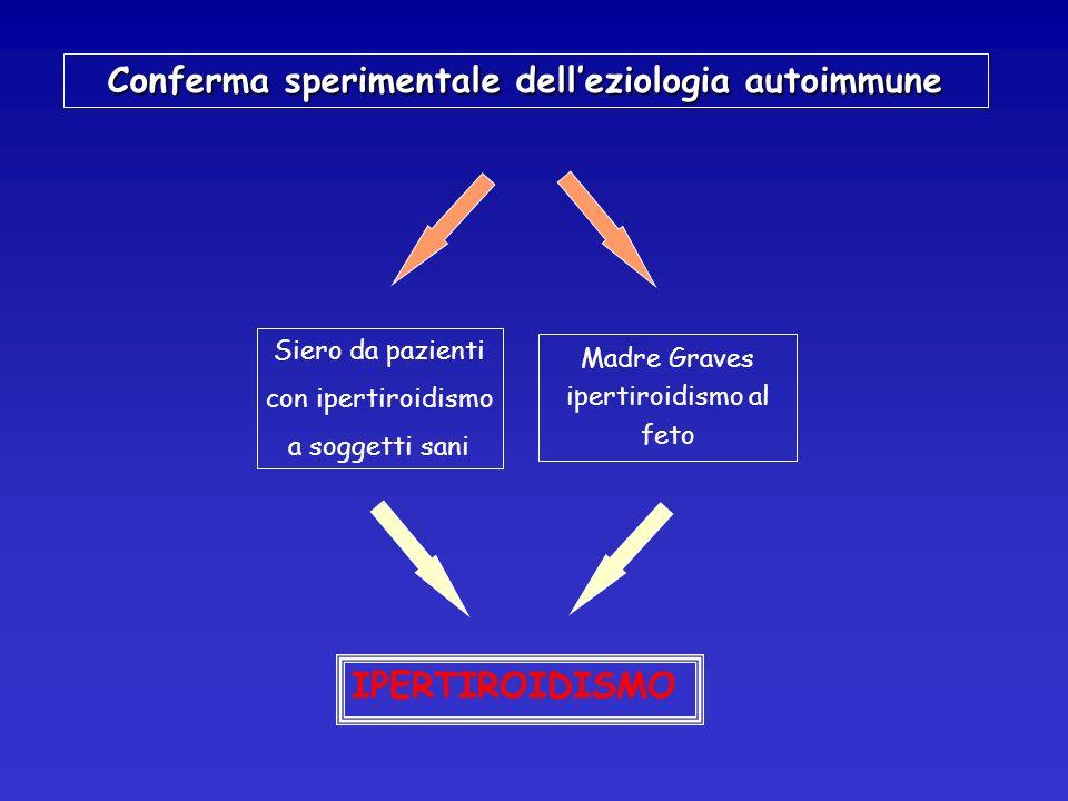Conferma sperimentale dell'eziologia autoimmune