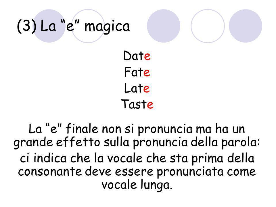 (3) La e magica Date Fate Late Taste