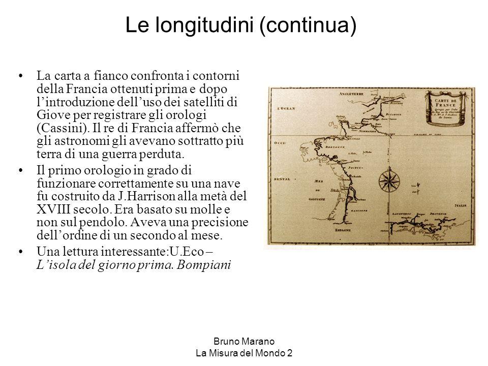 Le longitudini (continua)