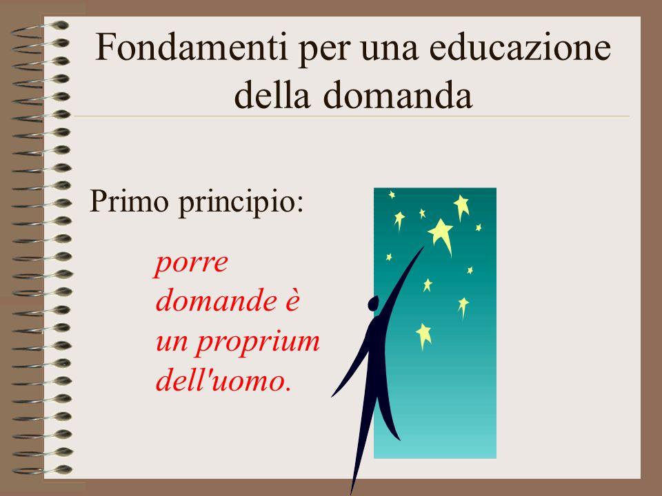 Fondamenti per una educazione della domanda