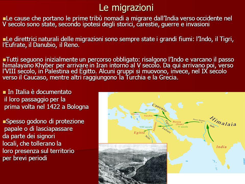 Le migrazioni