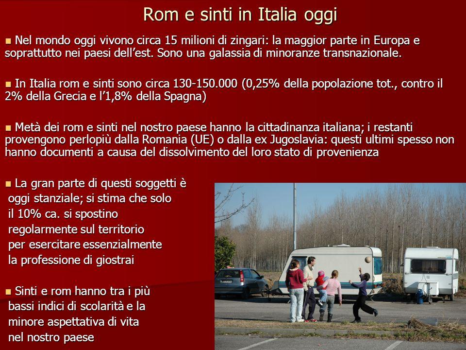Rom e sinti in Italia oggi