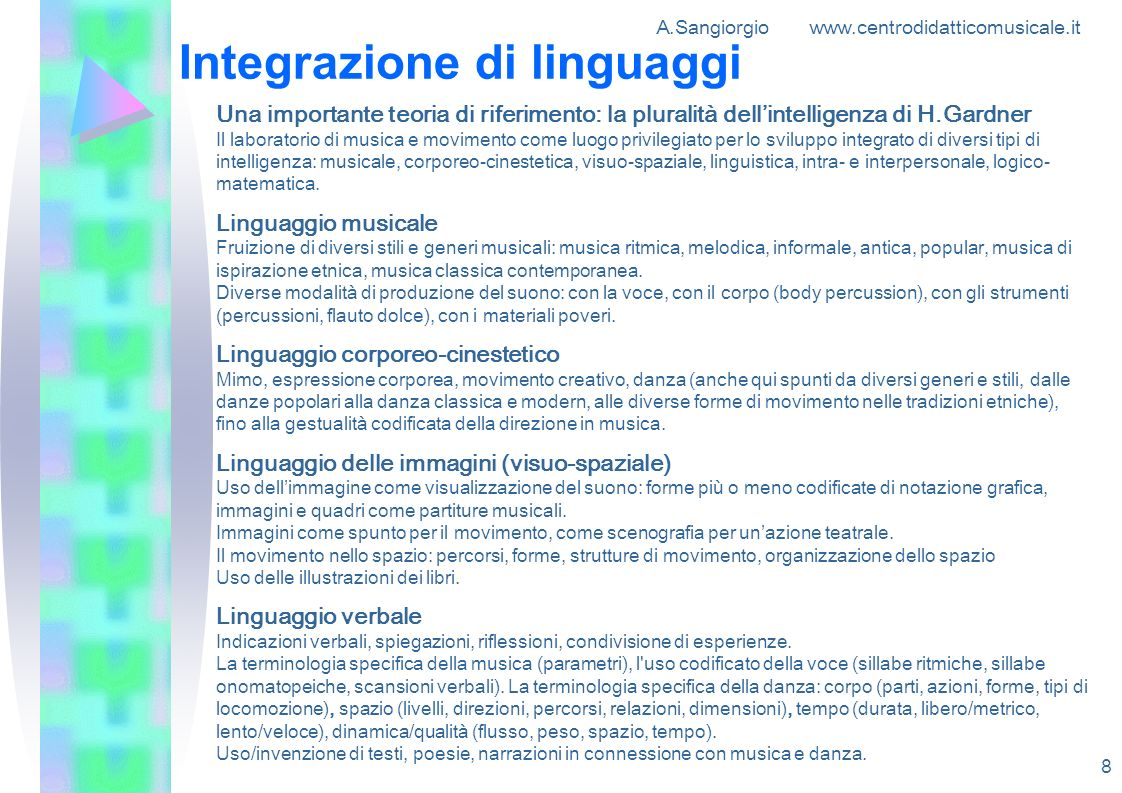 Integrazione di linguaggi