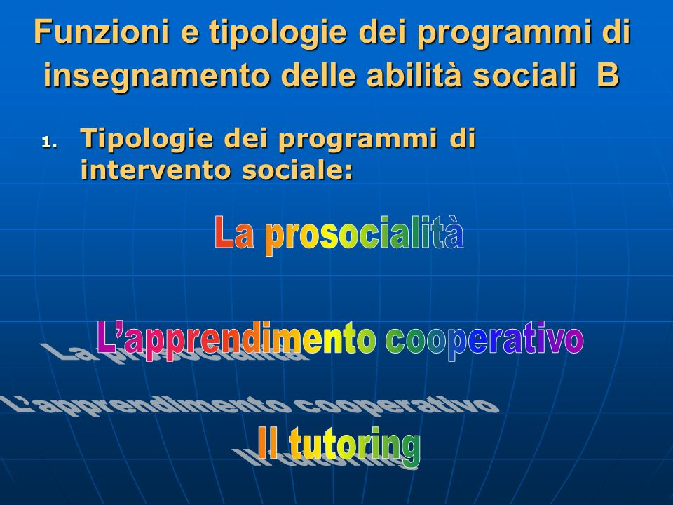 L'apprendimento cooperativo