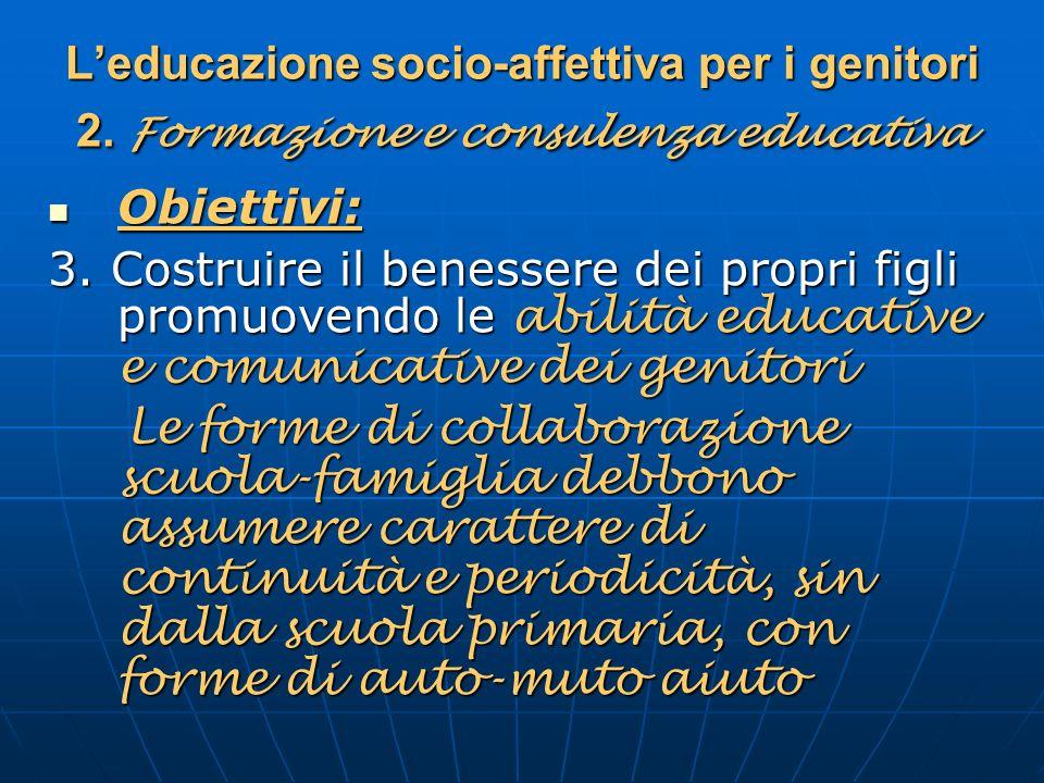 L'educazione socio-affettiva per i genitori 2