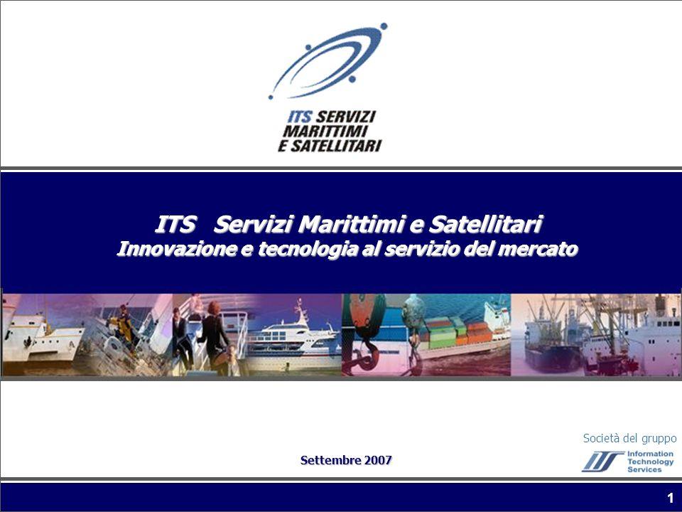 ITS Servizi Marittimi e Satellitari Innovazione e tecnologia al servizio del mercato