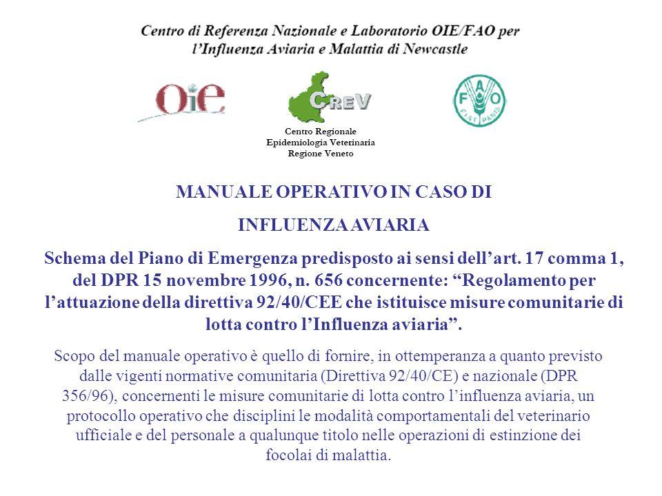 MANUALE OPERATIVO IN CASO DI