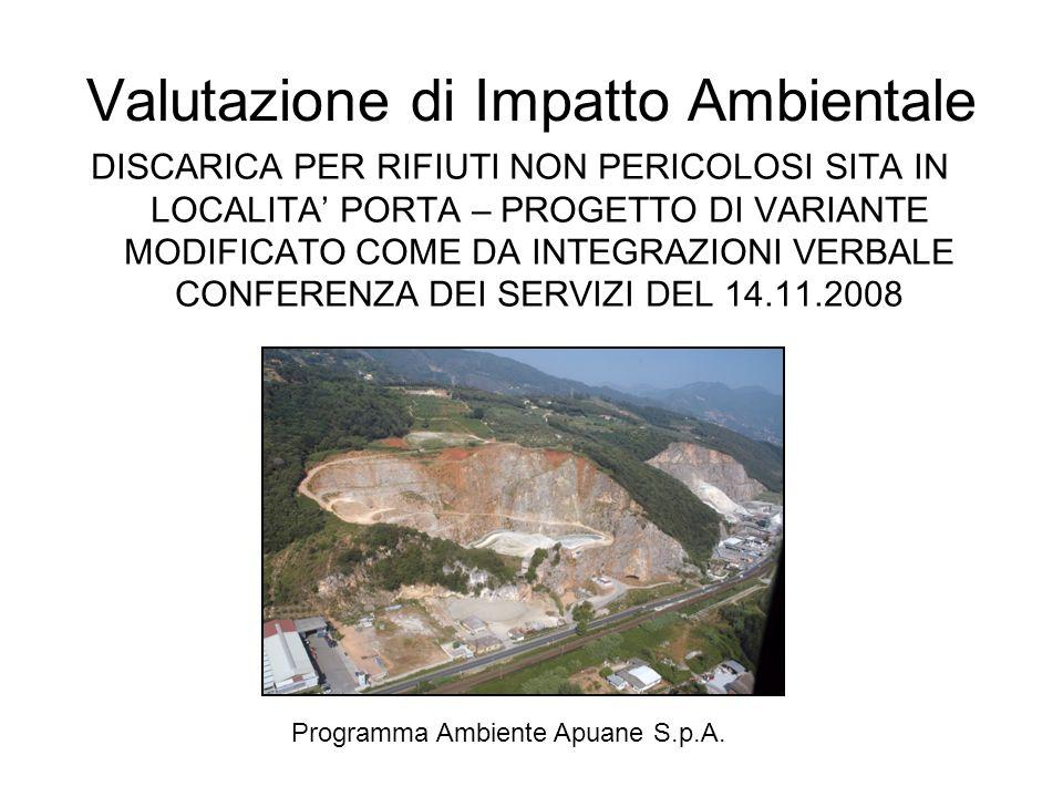 Valutazione di Impatto Ambientale