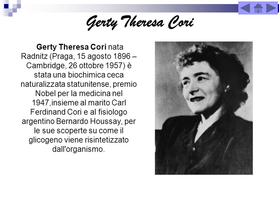 Gerty Theresa Cori