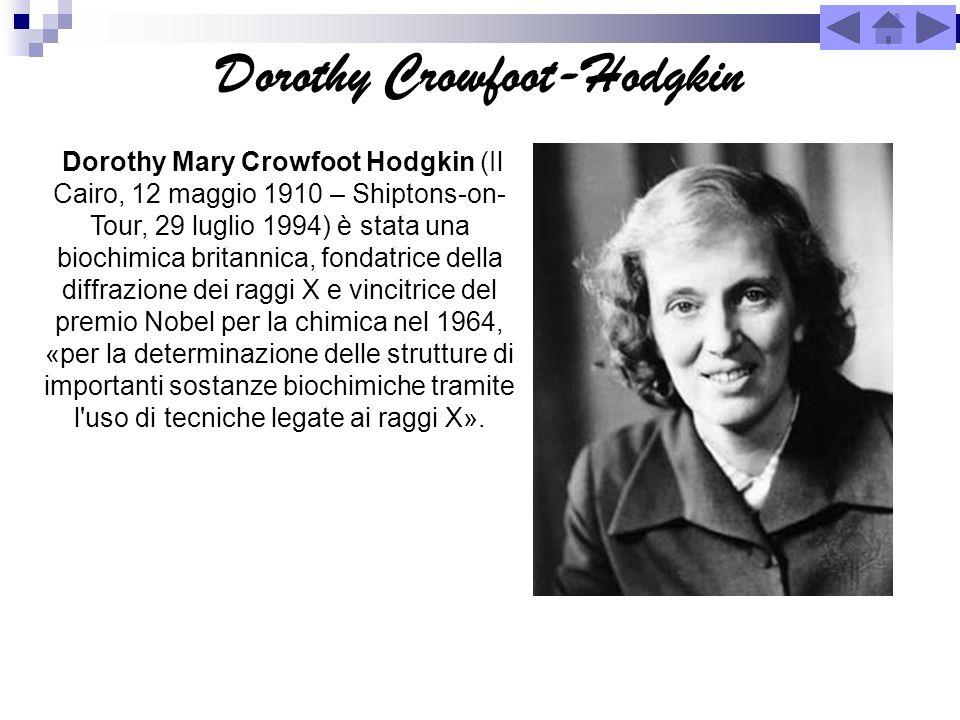 Dorothy Crowfoot-Hodgkin