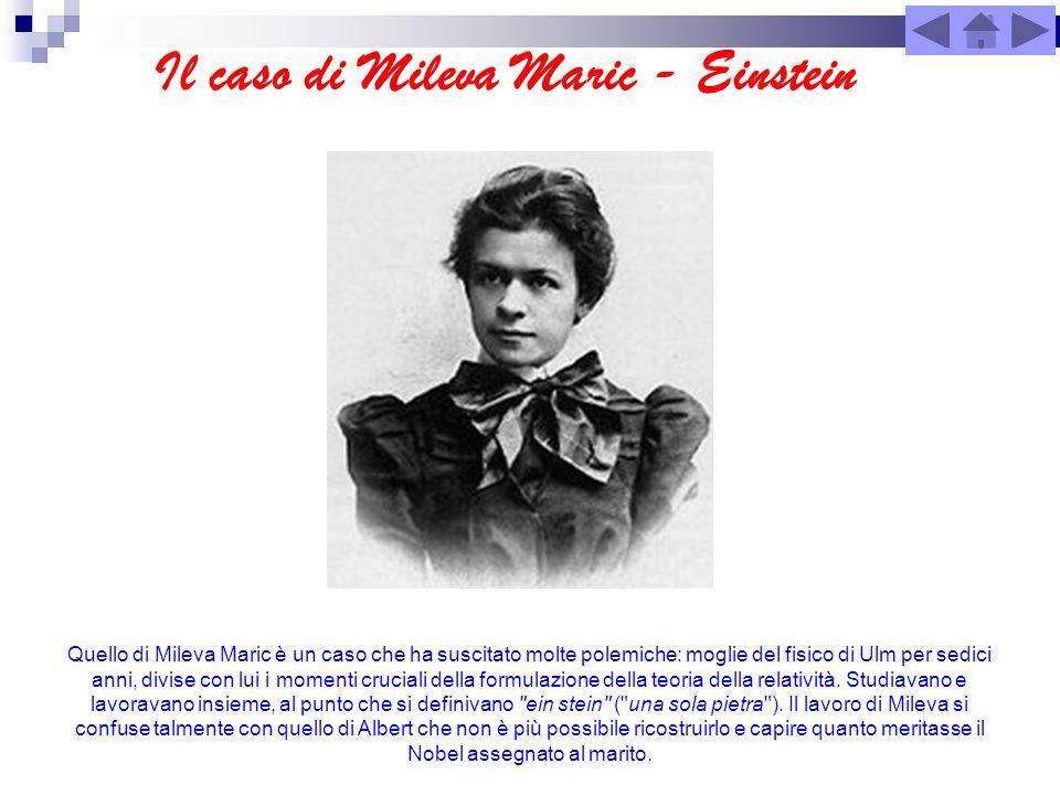 Il caso di Mileva Maric - Einstein