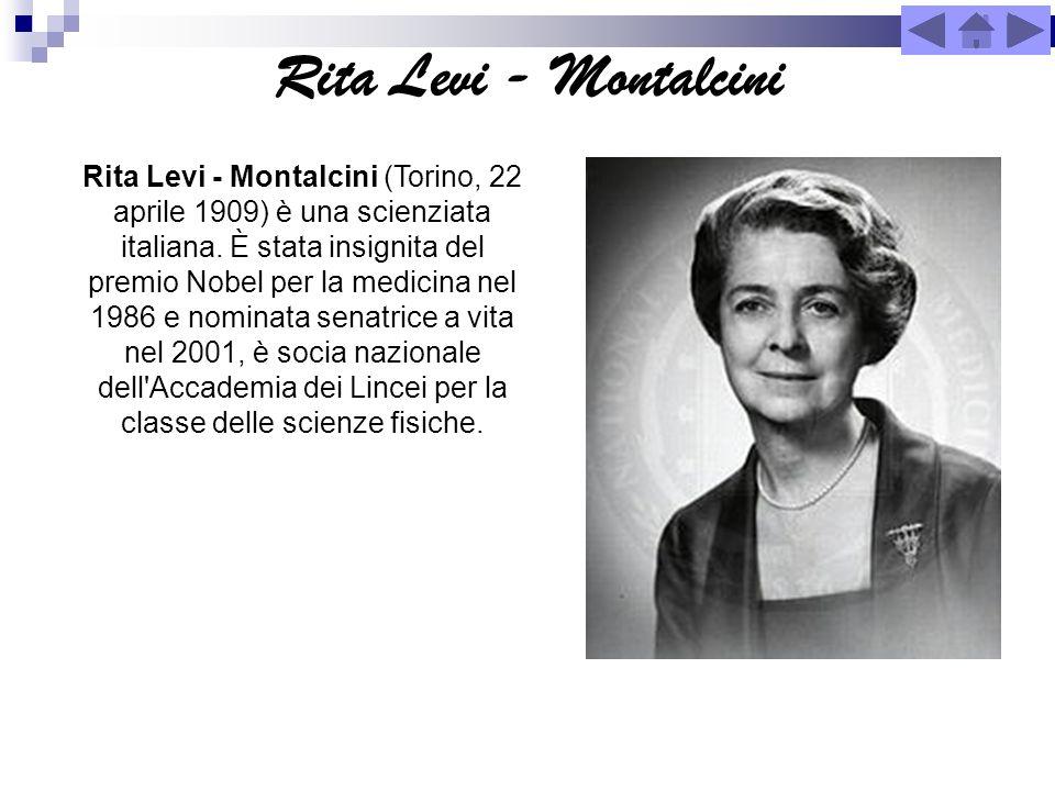 Rita Levi - Montalcini