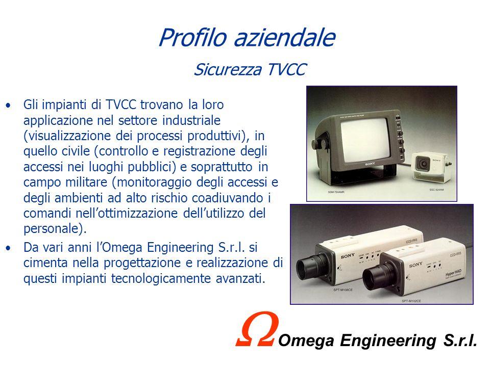 Profilo aziendale Sicurezza TVCC
