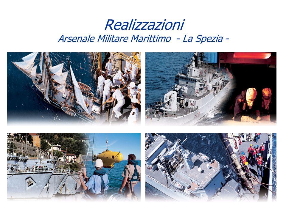 Realizzazioni Arsenale Militare Marittimo - La Spezia -