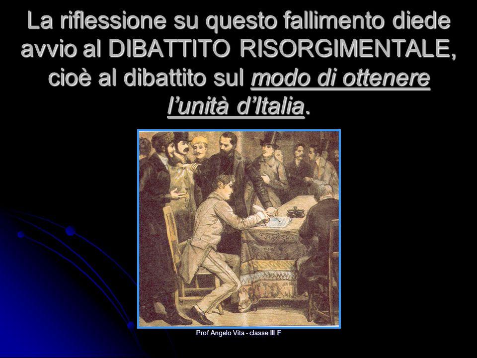 Prof Angelo Vita - classe III F