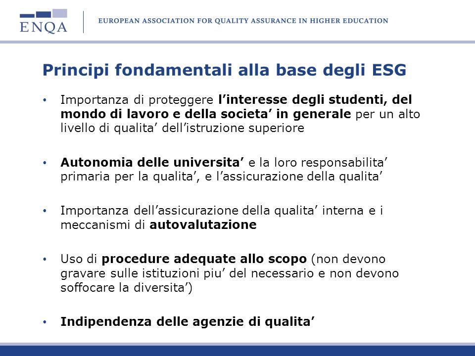 Principi fondamentali alla base degli ESG