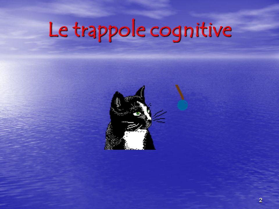 Le trappole cognitive