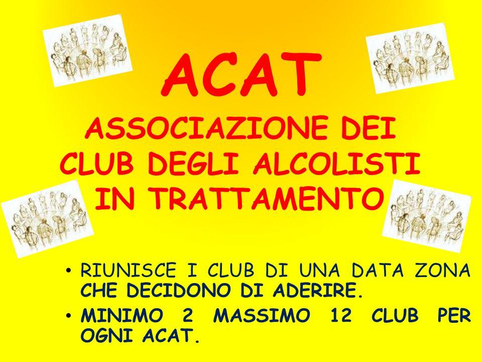 ACAT ASSOCIAZIONE DEI CLUB DEGLI ALCOLISTI IN TRATTAMENTO