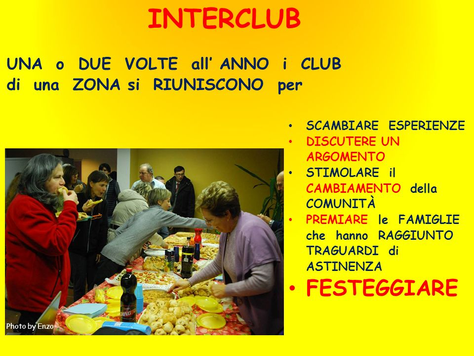 INTERCLUB FESTEGGIARE