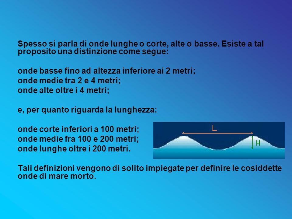 Spesso si parla di onde lunghe o corte, alte o basse
