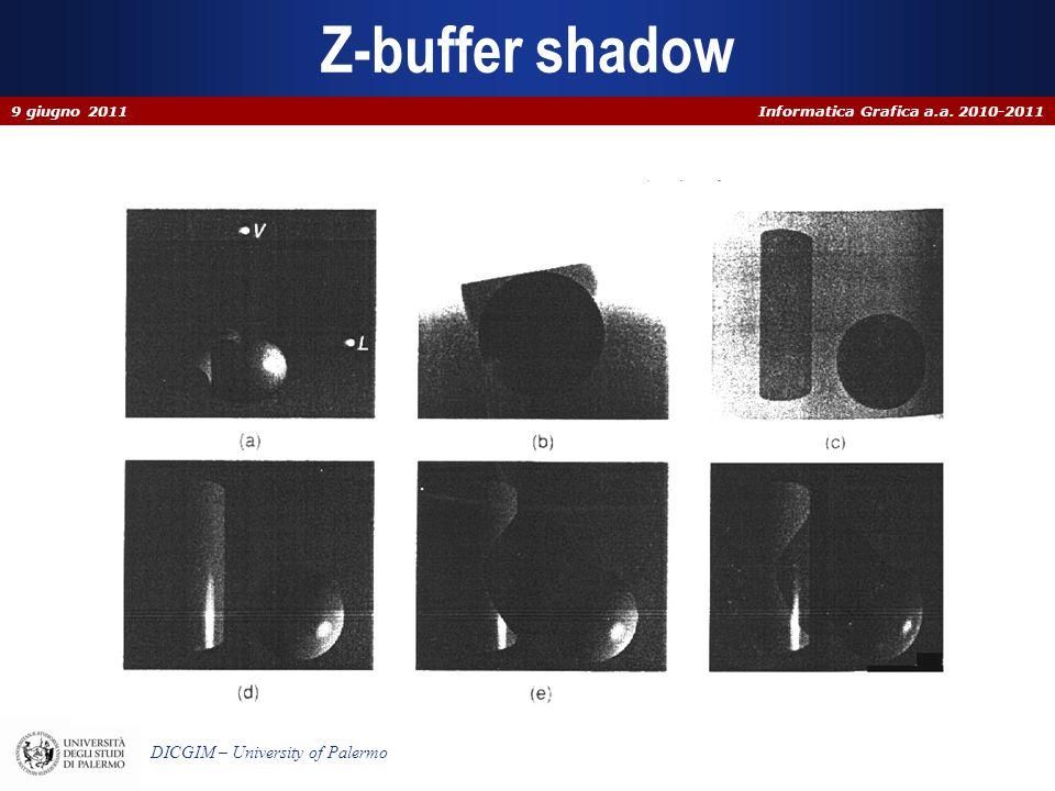 Z-buffer shadow 9 giugno 2011