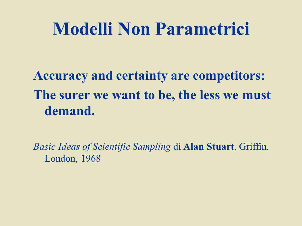 Modelli Non Parametrici