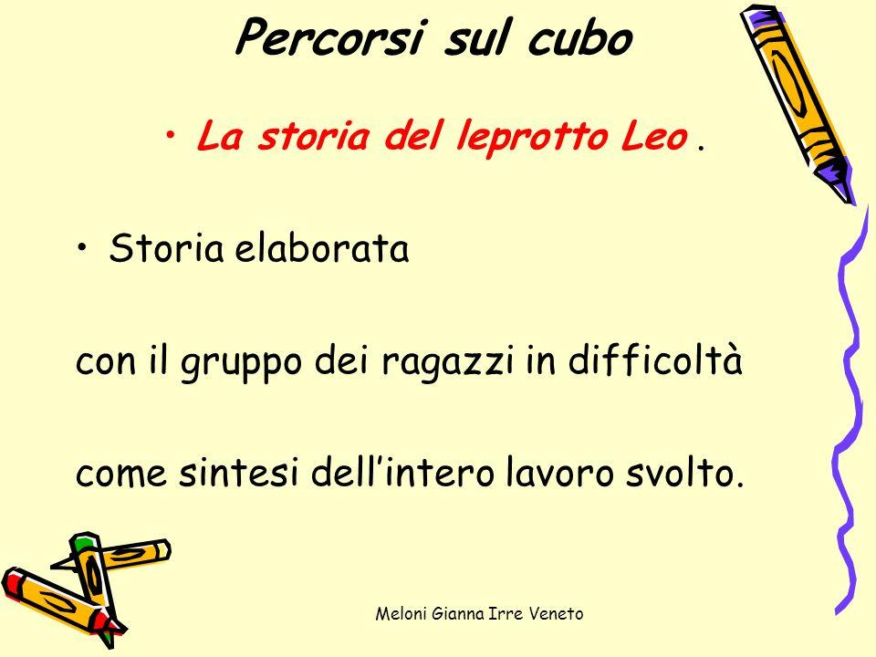 Percorsi sul cubo La storia del leprotto Leo . Storia elaborata