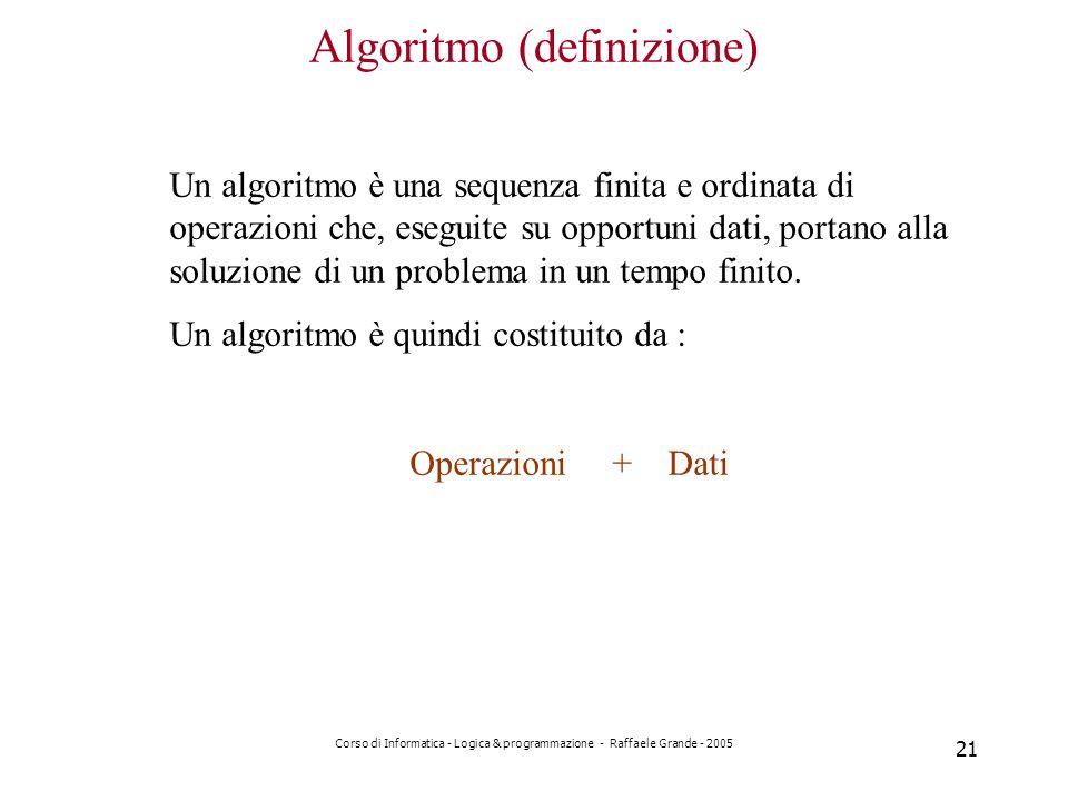 Algoritmo (definizione)